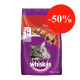 Whiskas Gatos Adultos Carne Receta Original 500gr